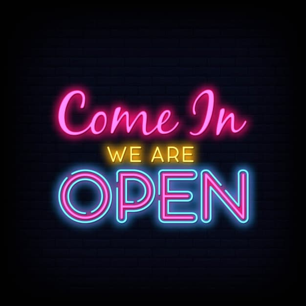 We are open - Universal